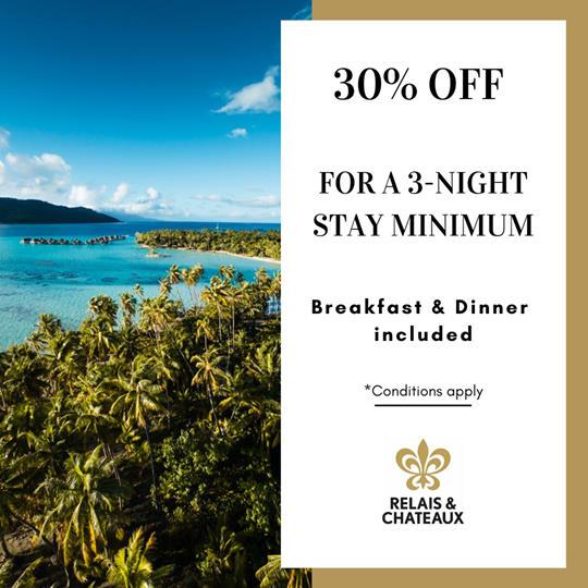 DEAL   Le Taha'a Island Resort & Spa – Relais & Châteaux